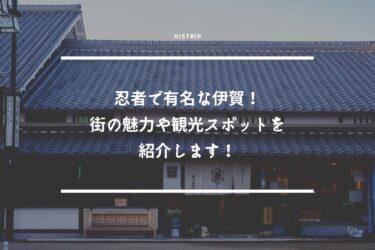 忍者で有名な伊賀!街の魅力や観光スポットを紹介します!